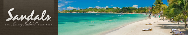 Sandals Jamaica Honeymoon Registry